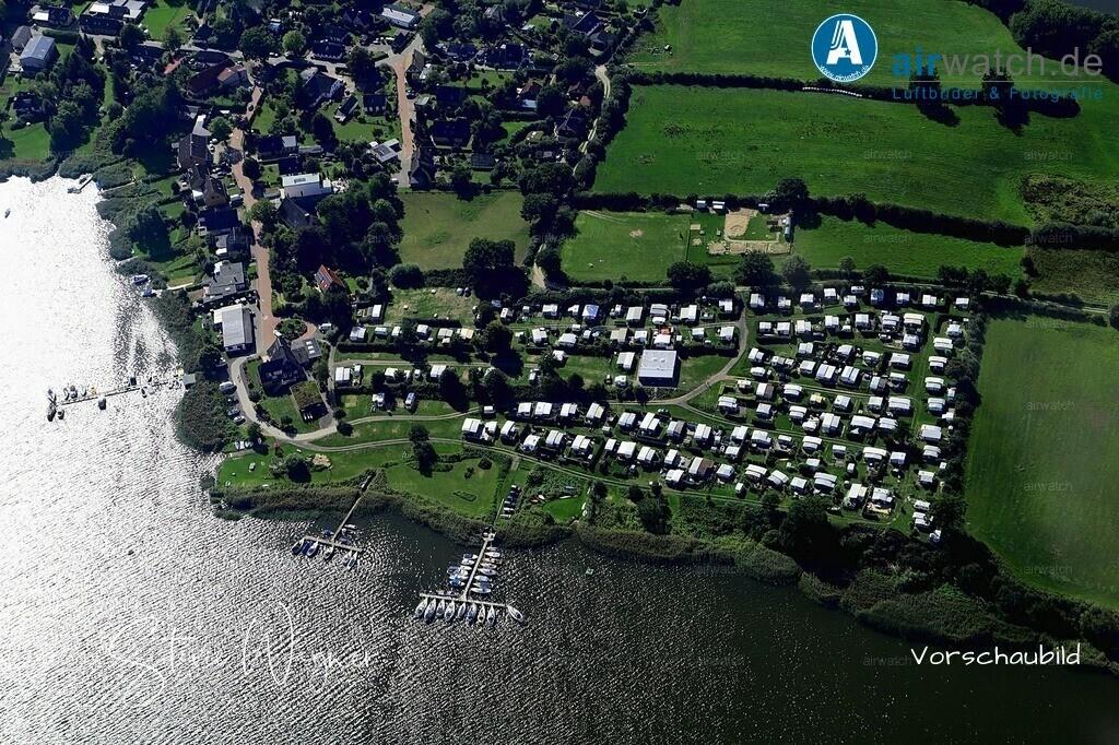 Luftbild Burg, Missunde, Missunder Fähre, Campingplatz Wees | Luftbild Burg, Missunde, Missunder Fähre, Campingplatz Wees • max. 6240 x 4160 pix