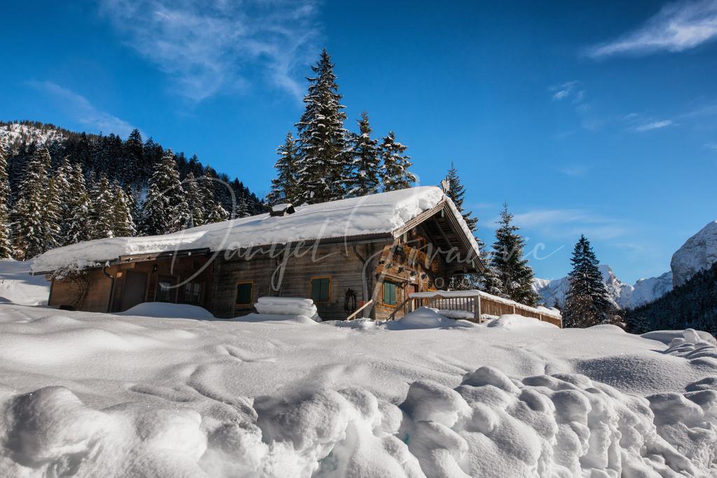 Winter am Ahornboden | Garberl Alm im Risstal