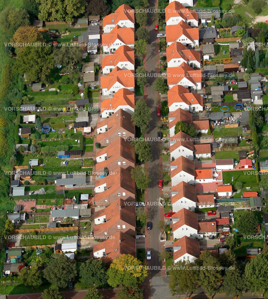 ES10098657 | Bergbausiedlung Boshamerweg, Essen-Karnap,  Essen, Ruhrgebiet, Nordrhein-Westfalen, Germany, Europa