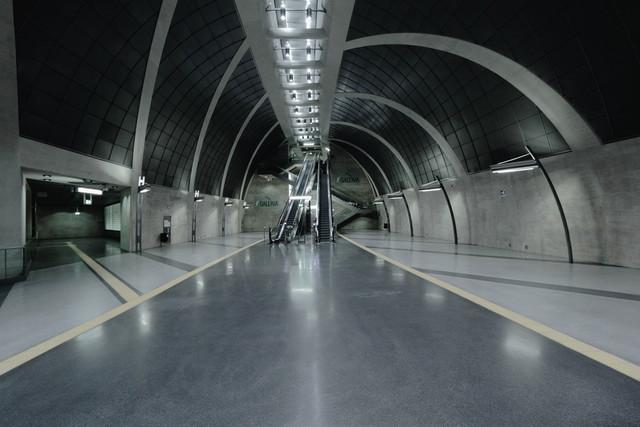 Am Ende des Weges | Eine U-Bahn-Station in Köln