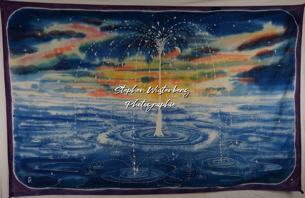 Wasserspiel | Roland Gingel Artwork @ Gravity Boulderhalle, Horst und Margit Heieck, Bad Kreuznach