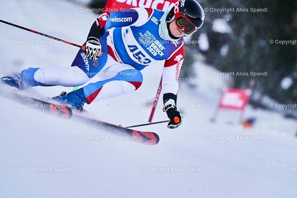 ALS5953_WWMG_GS-II_C   (C) FotoLois.com, Alois Spandl, WinterWorldMastersGames 2020 Innsbruck, Giant Slalom-II Gruppe C Damen, Patscherkofel Olympiaabfahrt, Mi 15. Jänner 2020.