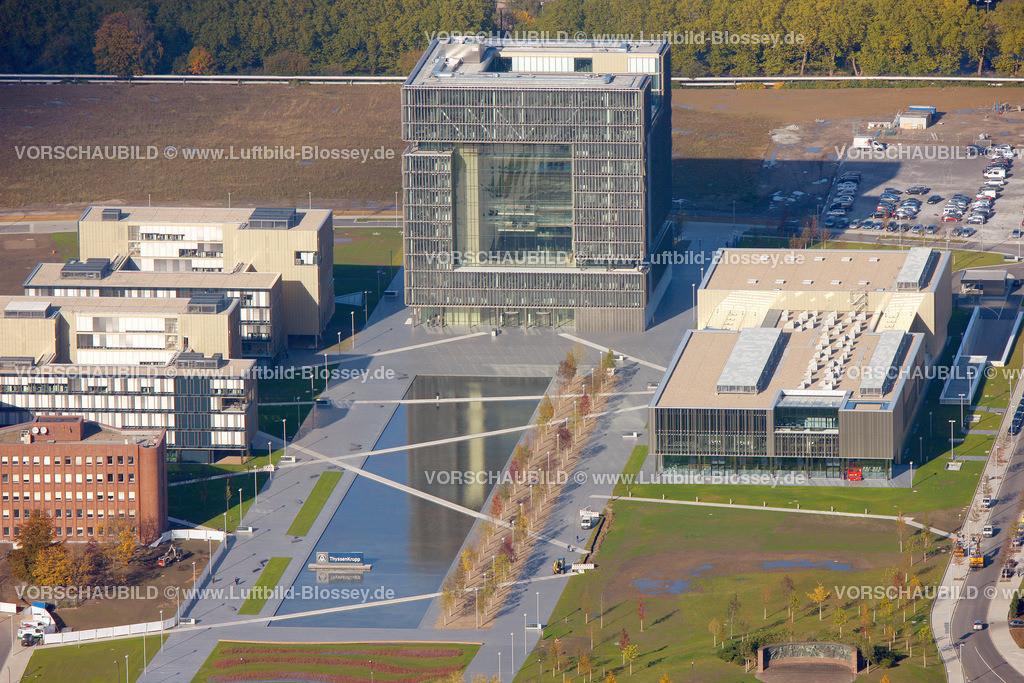 ES10104114 | ThyssenKrupp Hauptverwaltung Essen,  Essen, Ruhrgebiet, Nordrhein-Westfalen, Germany, Europa