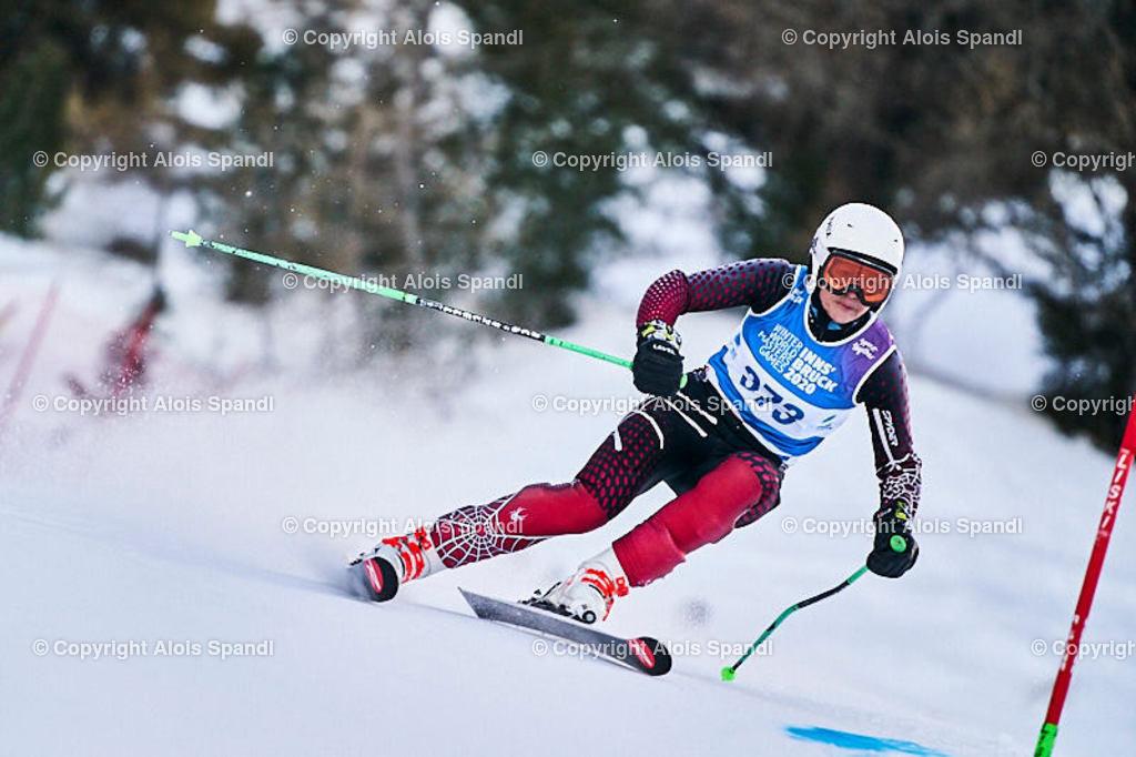 ALS5529_WWMG_GS-II_C   (C) FotoLois.com, Alois Spandl, WinterWorldMastersGames 2020 Innsbruck, Giant Slalom-II Gruppe C Damen, Patscherkofel Olympiaabfahrt, Mi 15. Jänner 2020.