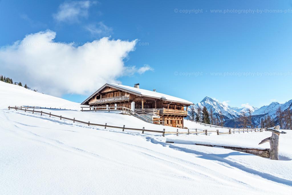 Schrofenalm Tux im Winter-5