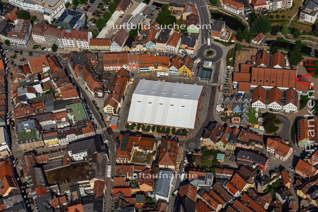 bierfest-2019-kulmbach-19-694 | aktuelles Luftbild von Bierfest-2019  Kulmbach - Luftaufnahme wurde 2019 von https://frankenair.de mittels Flugzeug (keine Drohne) erstellt.
