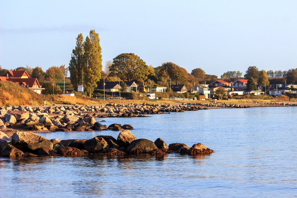Strand in Langholz | Strand in Langholz im Herbst