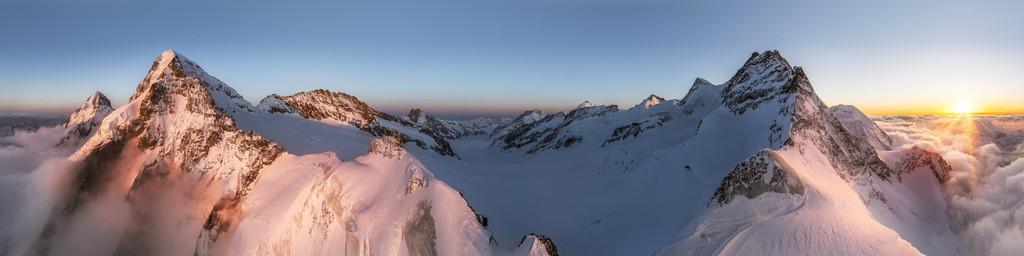 Pennine Alps Panorama