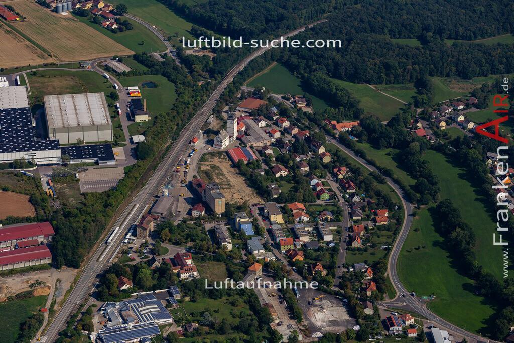 uffenheim-19-756 | aktuelles Luftbild von  Uffenheim - Luftaufnahme wurde 2019 von https://frankenair.de mittels Flugzeug (keine Drohne) erstellt.