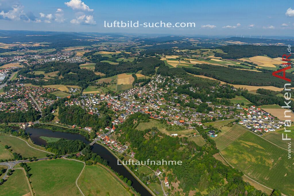 burghaig-19-528 | aktuelles Luftbild von Burghaig   - Luftaufnahme wurde 2019 von https://frankenair.de mittels Flugzeug (keine Drohne) erstellt.