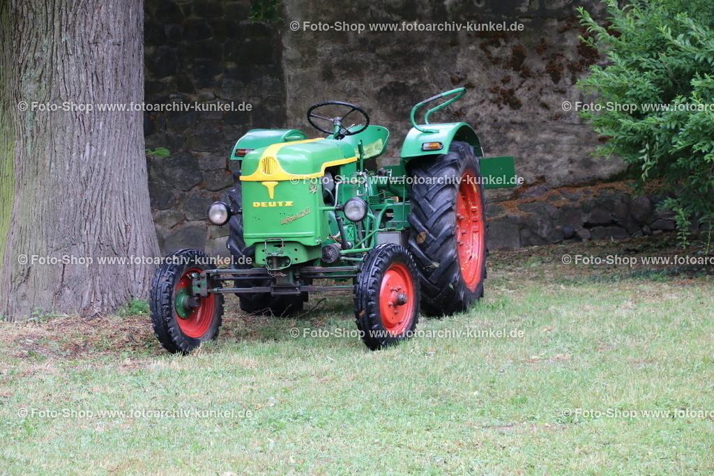 Deutz F2L 612/5-N Traktor, Schlepper, 1958 | Deutz F2L 612/5-N Traktor, Schlepper, grün, Baujahr 1958, 1956-59, Baureihe FL 612, BRD, Deutschland