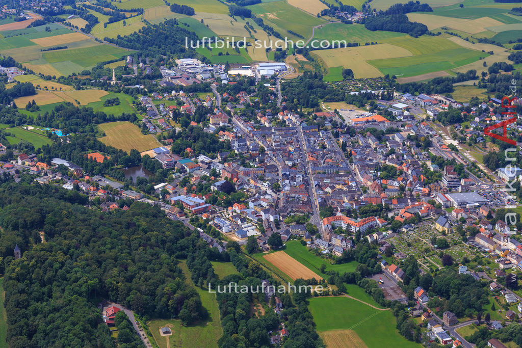 wunsiedel-2016-3774 | Luftbild von  Wunsiedel - Luftaufnahme wurde 2016 von https://frankenair.de mittels Flugzeug (keine Drohne) erstellt - die Geschenkidee