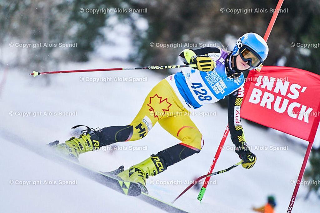 ALS5824_WWMG_GS-II_C | (C) FotoLois.com, Alois Spandl, WinterWorldMastersGames 2020 Innsbruck, Giant Slalom-II Gruppe C Damen, Patscherkofel Olympiaabfahrt, Mi 15. Jänner 2020.