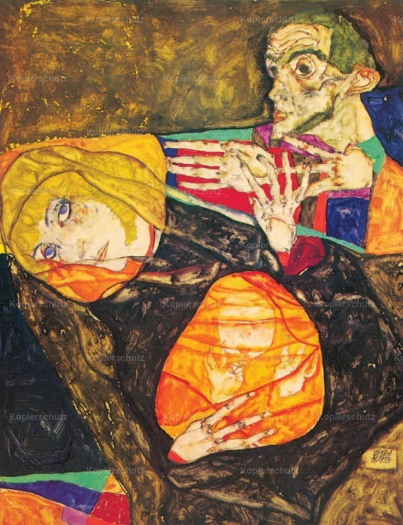 Schiele_ Egon (1890-1918) - Holy Family 1913