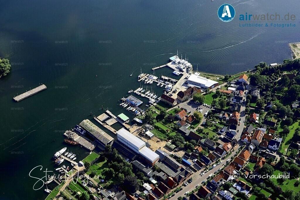Luftbild Arnis, Schlei, Ostseefjord, Sportboothafen, Bootswerft   Luftbild Arnis, Schlei, Ostseefjord, Sportboothafen, Bootswerft • max. 6240 x 4160 pix