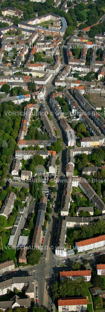 ES10094251a | Frohnhauseer Strasse, Luftbild,  Essen, Ruhrgebiet, Nordrhein-Westfalen, Germany, Europa, Foto: hans@blossey.eu, 05.09.2010