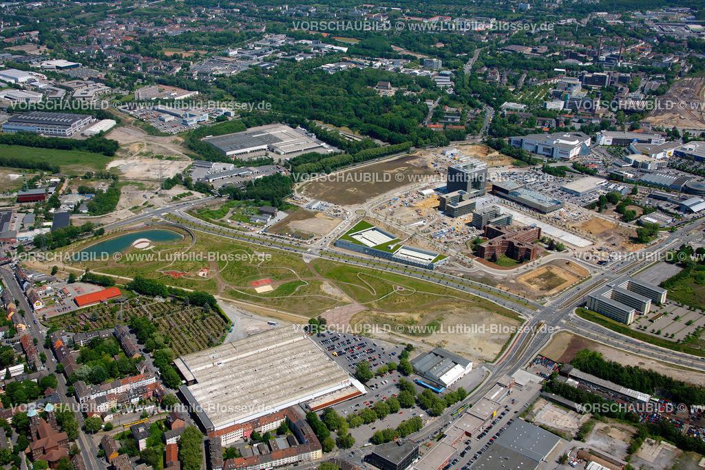 ES10058365 | Westviertel ThyssenKrupp Quartier,  Essen, Ruhrgebiet, Nordrhein-Westfalen, Germany, Europa, Foto: hans@blossey.eu, 29.05.2010