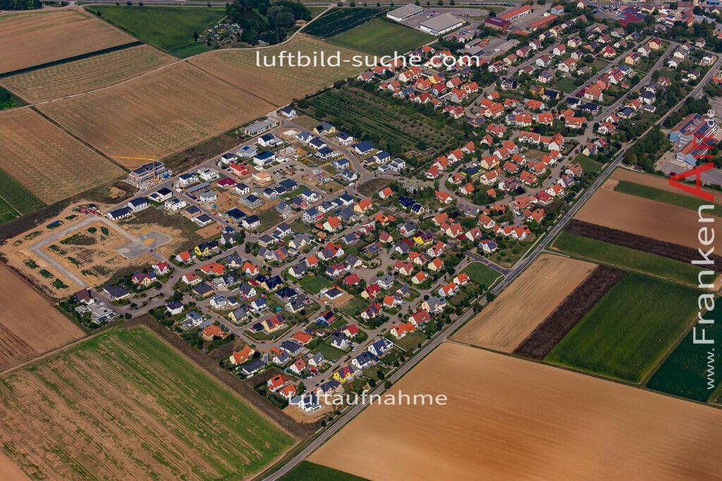 uffenheim-19-725 | aktuelles Luftbild von  Uffenheim - Luftaufnahme wurde 2019 von https://frankenair.de mittels Flugzeug (keine Drohne) erstellt.