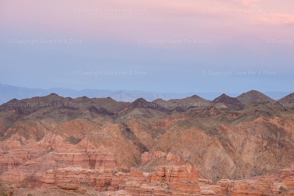 Kasachstan | Die roten Felsen des Scharyn Canyon