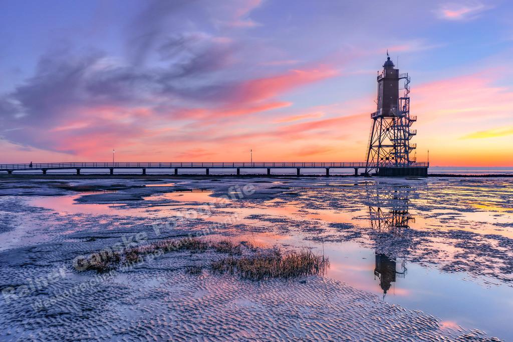 20210317-Leuchtturm Obereversand Dorum Sonnenuntergang  17 März 2021 _8 Kopie