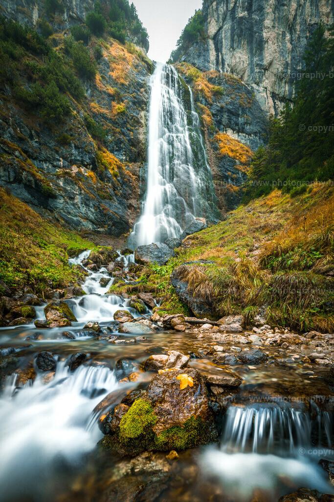 Dalfazer Wasserfall Achensee Rofan