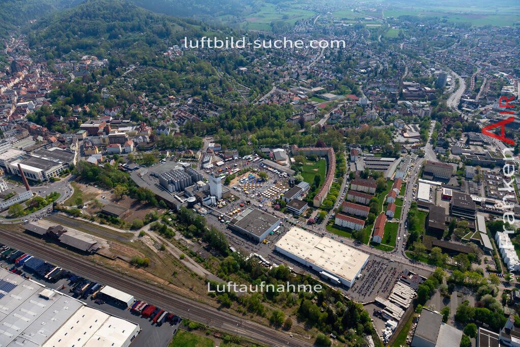 kulmbach-18-65 | aktuelles Luftbild von  Kulmbach - Luftaufnahme wurde 2018 von https://frankenair.de mittels Flugzeug (keine Drohne) erstellt.