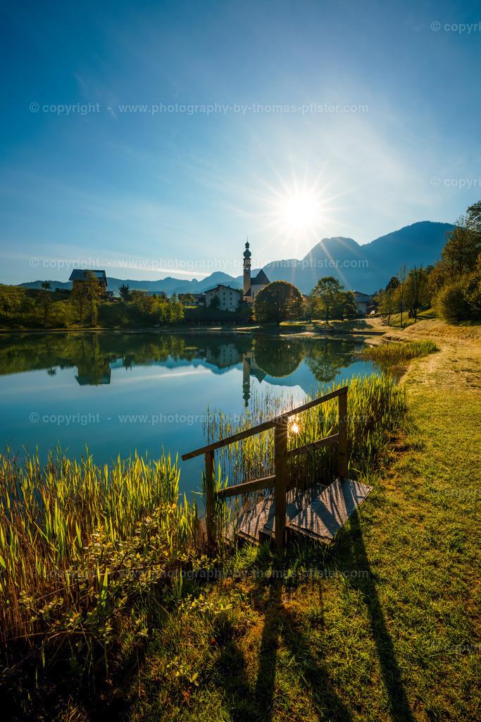Reith im Alpbachtal Reithersee am Morgen