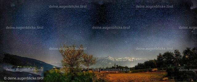 1AF_00939-Pano-01 | Sternenhimmel über Tirol.