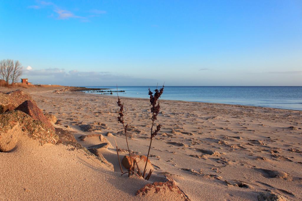 Strand in Booknis | Sandstrand in Booknis