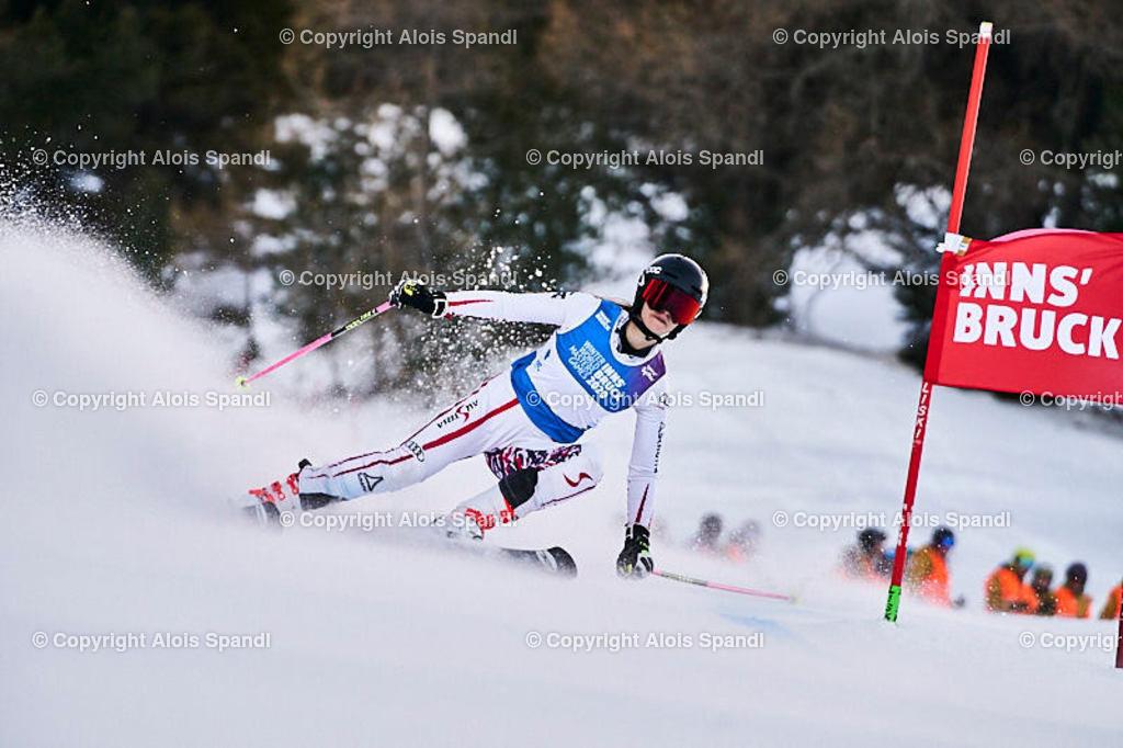 ALS5405_WWMG_GS-II_C | (C) FotoLois.com, Alois Spandl, WinterWorldMastersGames 2020 Innsbruck, Giant Slalom-II Gruppe C Damen, Patscherkofel Olympiaabfahrt, Mi 15. Jänner 2020.