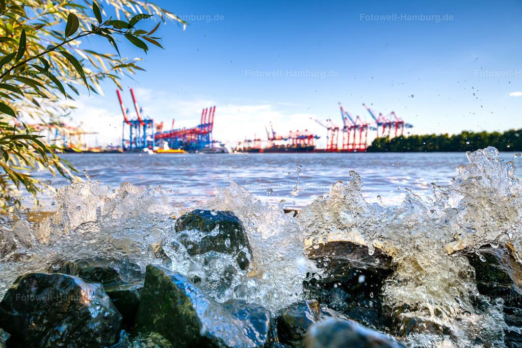 10200901 - Cool Water | Kleine Erfrischung gefällig? Mit diesem Motiv an der Wand haben Sie das Gefühl direkt am Elbstrand in Hamburg zu sein.