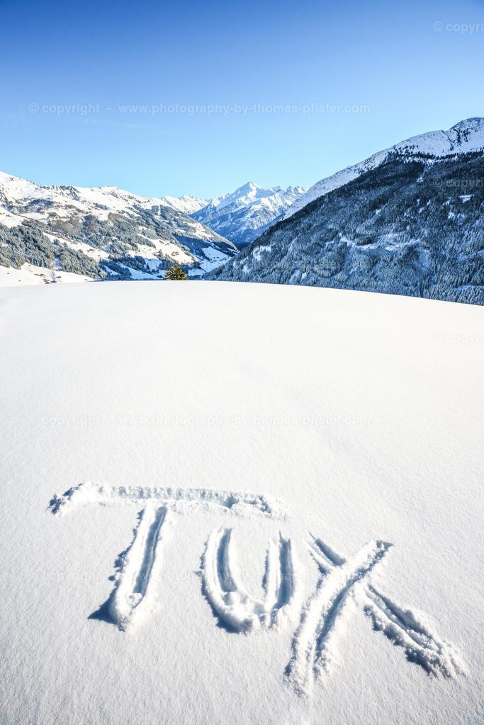 Winterwandern in Tux