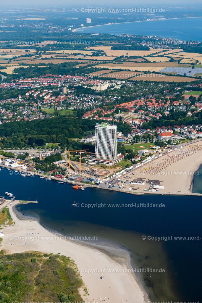 Travemünde_ELS_6429190717 | Travemünde - Aufnahmedatum: 19.07.2017, Aufnahmehöhe: 460 m, Koordinaten: N53°57.210' - E10°54.097', Bildgröße: 4912 x  7360 Pixel - Copyright 2017 by Martin Elsen, Kontakt: Tel.: +49 157 74581206, E-Mail: info@schoenes-foto.de  Schlagwörter:Schleswig-Holstein,Ostsee,Luftbild,Luftaufnahme, Luftaufnahmen, Luftbilder