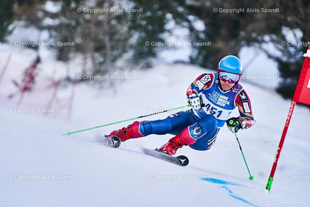 ALS5931_WWMG_GS-II_C | (C) FotoLois.com, Alois Spandl, WinterWorldMastersGames 2020 Innsbruck, Giant Slalom-II Gruppe C Damen, Patscherkofel Olympiaabfahrt, Mi 15. Jänner 2020.