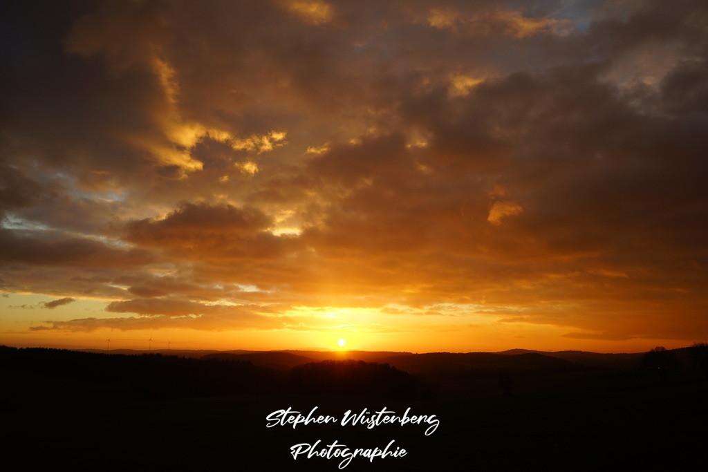 Sunset Sembach | Phantastischer Sonnenuntergang bei Sembach