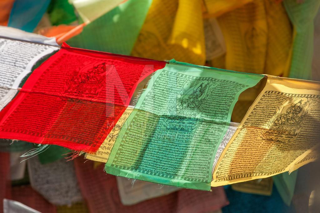 MW0411-8023 | Gebetsfahnen in Tibet -  Im Land des Dalai Lama