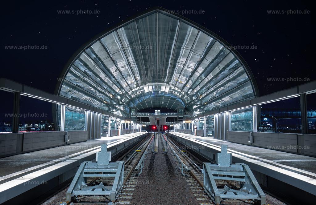 Neuer U-Bahnhof in Hamburg