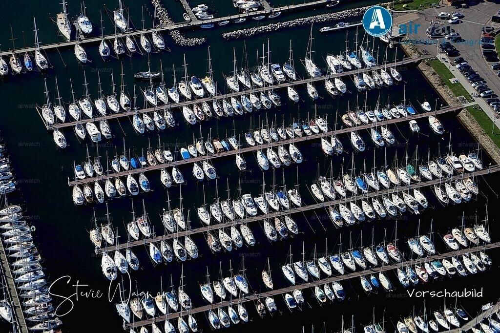 Luftbild Erholungs- und Ferienort Maasholm am Ostseefjord | Maasholm, Halbinsel, Ostseefjord, Sportboothafen, Fischereihafen, Fischerdorf • max. 6240 x 4160 pix
