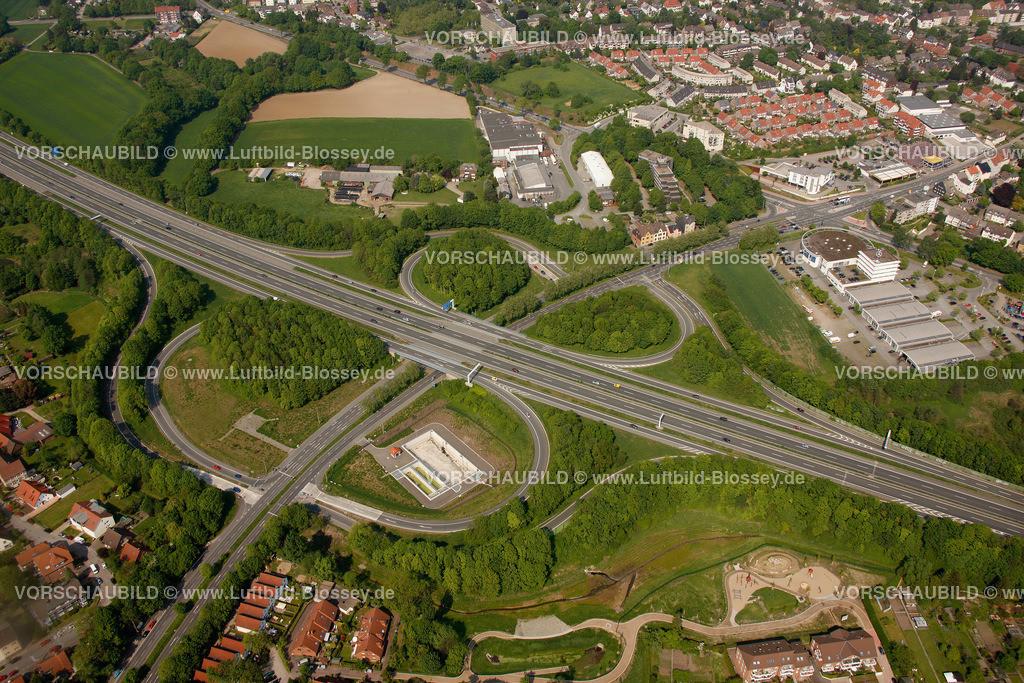 RE11046255 | Autobahnkreuz, Recklinghausen Herten, A43, Hochlar, ,  Recklinghausen, Ruhrgebiet, Nordrhein-Westfalen, Germany, Europa