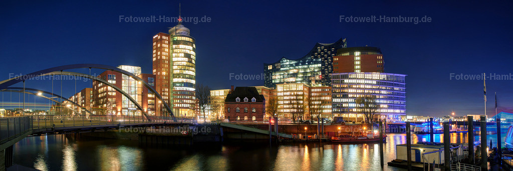11675962 - Hafencity bei Nacht