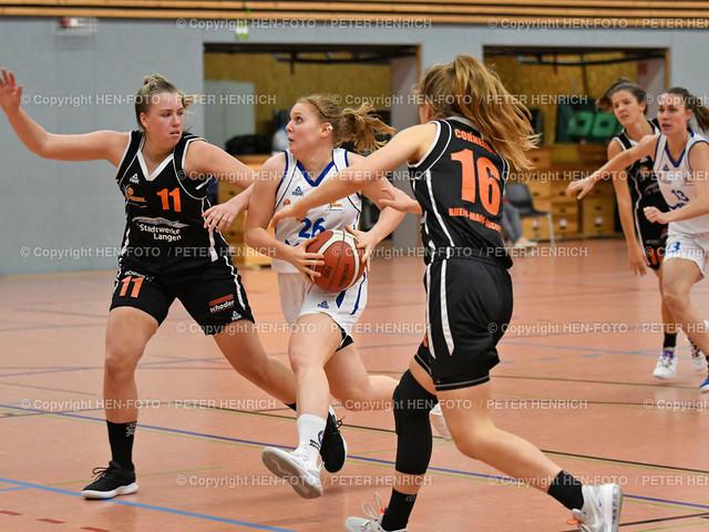 Basketball 2. BuLi Damen SG Weiterstadt - Rhein-Main Baskets 20201025 copyright by HEN-FOTO | Basketball 2. BuLi Damen SG Weiterstadt - Rhein-Main Baskets (62:98) 20201025 li 11 Paula Süssmann (R) Mi 26 Carolin Schmidt (W) re 16 Sari Cornelius (R) copyright by HEN-FOTO Peter Henrich
