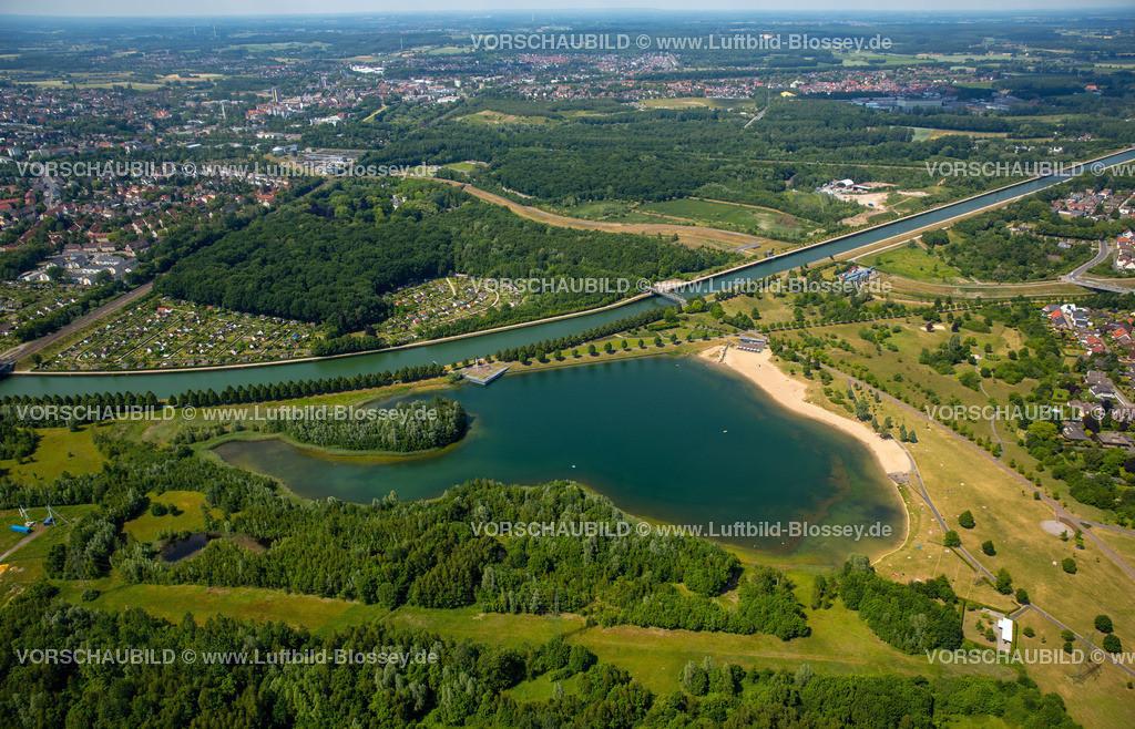 Luenen15064065 | Seepark Lünen mit Kanal und Preußenhafen, Datteln-Hamm-Kanal, Lünen, Ruhrgebiet, Nordrhein-Westfalen, Deutschland