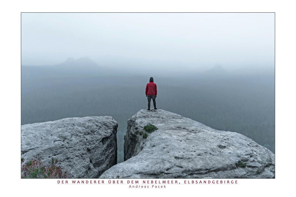Der Wanderer über dem Nebelmeer, Elbsandgebirge | Die Serie 'Deutschlands Landschaften' zeigt die schönsten und wildesten deutschen Landschaften.