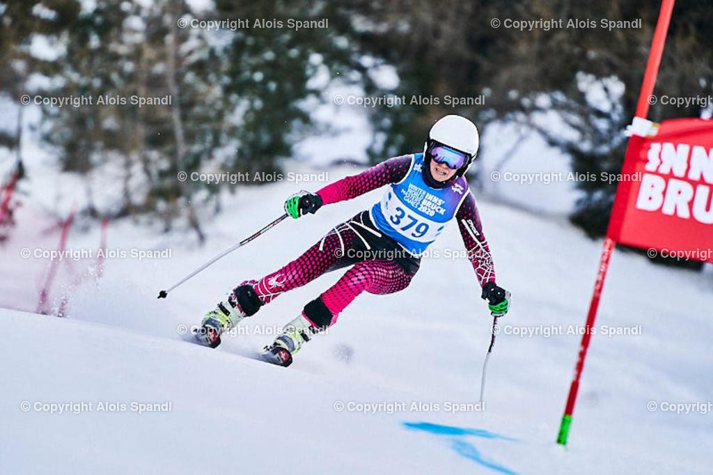 ALS5577_WWMG_GS-II_C | (C) FotoLois.com, Alois Spandl, WinterWorldMastersGames 2020 Innsbruck, Giant Slalom-II Gruppe C Damen, Patscherkofel Olympiaabfahrt, Mi 15. Jänner 2020.