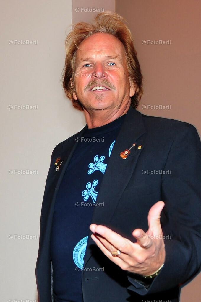 Frank Zander im Partyfieber