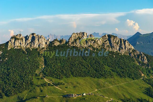 luftbild-kampenwand-bruno-kapeller-05 | Luftaufnahme von der Kampenwand 1669m
