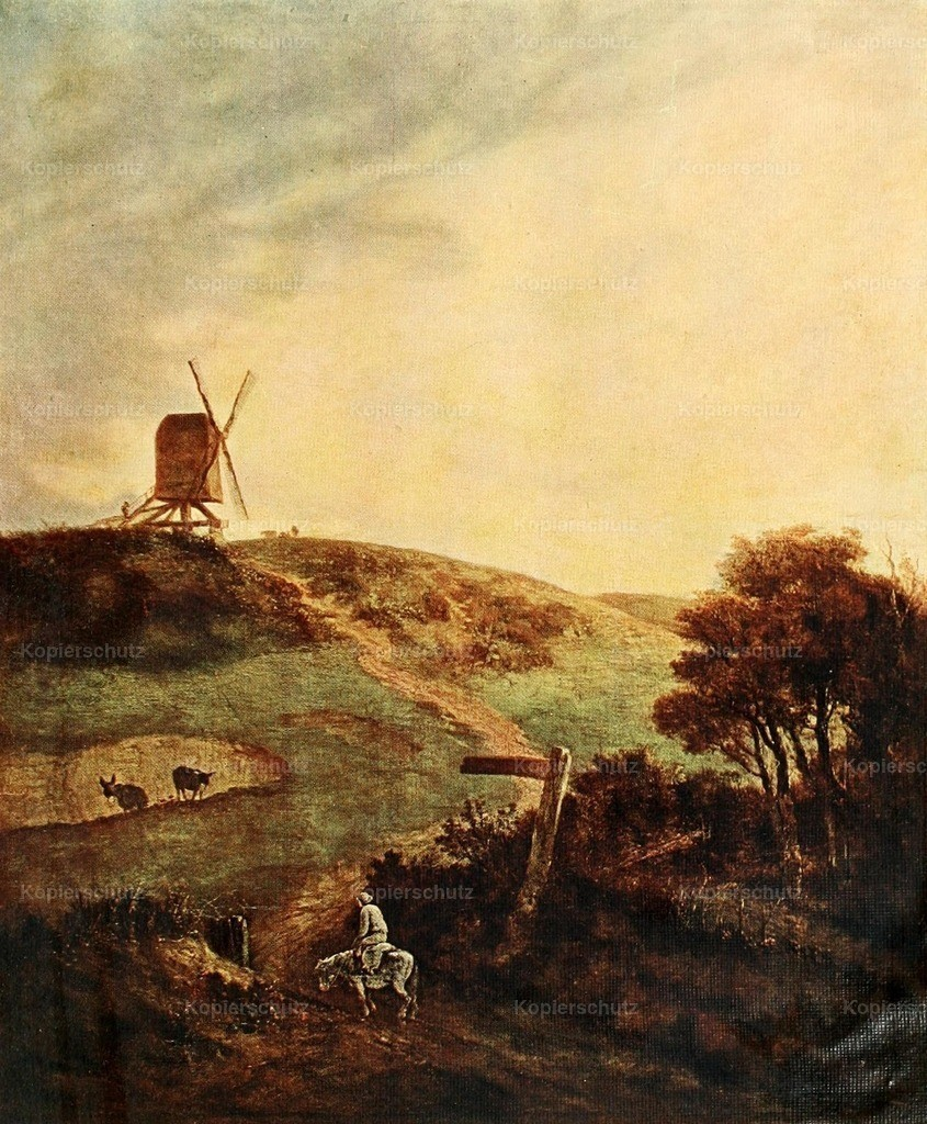 Crome_ John (1768-1921) - Windmill_ Norfolk - History of Painting 1895