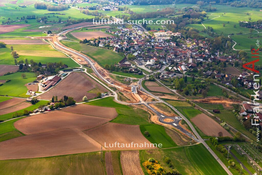 kulmbach-18-81 | aktuelles Luftbild von  Kulmbach - Luftaufnahme wurde 2018 von https://frankenair.de mittels Flugzeug (keine Drohne) erstellt.