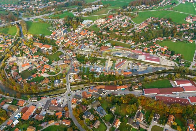 luftbild-siegsdorf-bruno-kapeller-13 | Luftaufnahme von Siegsdorf im Herbst 2019