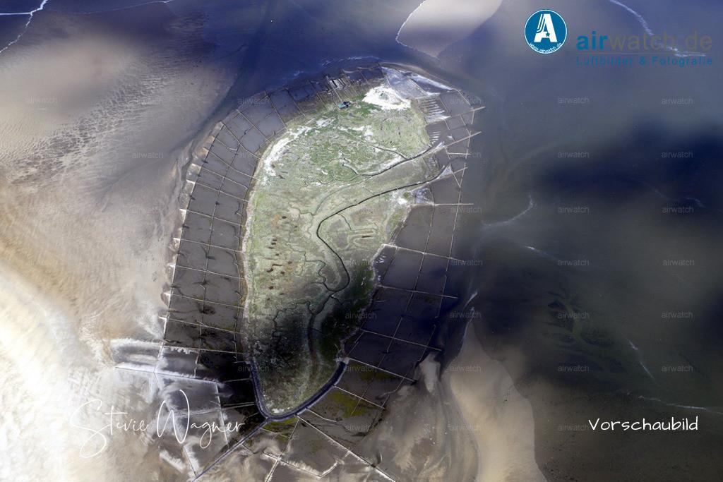 Luftbilder Hallig Norderoog